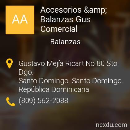Accesorios & Balanzas Gus Comercial