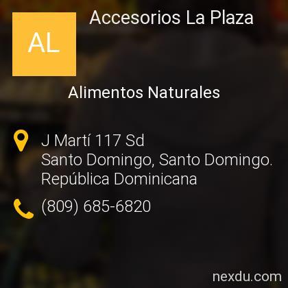 Accesorios La Plaza
