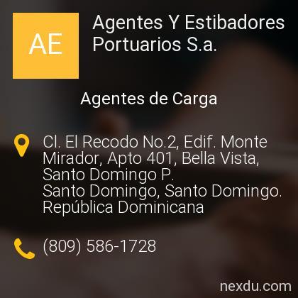 Agentes Y Estibadores Portuarios S.a.