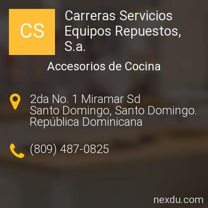 Carreras Servicios Equipos Repuestos, S.a.