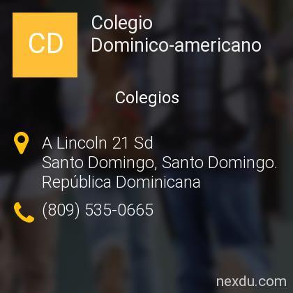 Colegio Dominico-americano