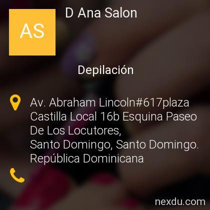 D Ana Salon