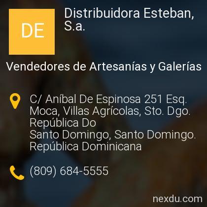 Distribuidora Esteban, S.a.