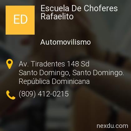 Escuela De Choferes Rafaelito