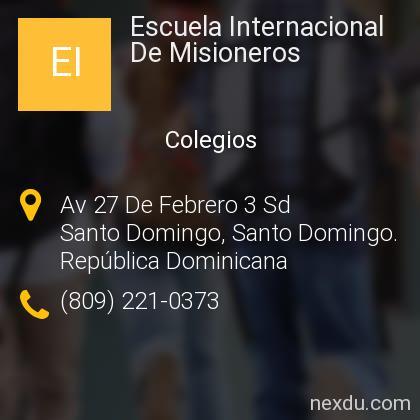 Escuela Internacional De Misioneros