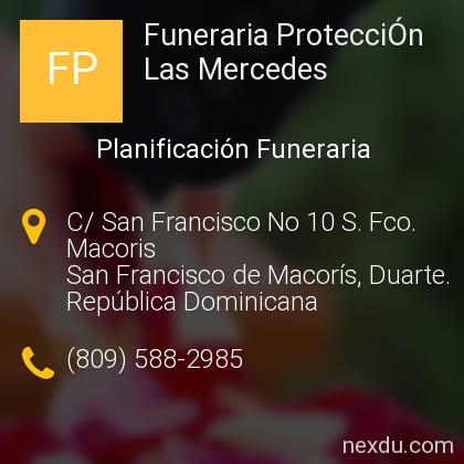 Funeraria ProtecciÓn Las Mercedes