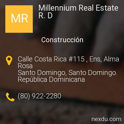 Millennium Real Estate R. D