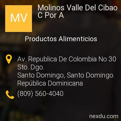Molinos Valle Del Cibao C Por A