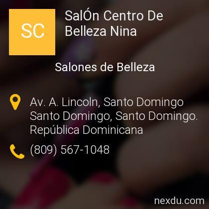 SalÓn Centro De Belleza Nina