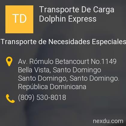 Transporte De Carga Dolphin Express