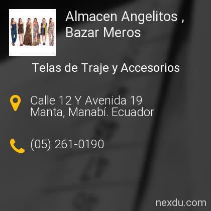 Almacen Angelitos , Bazar Meros