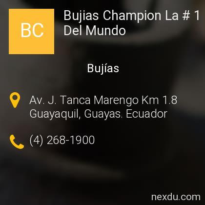 Bujias Champion La # 1 Del Mundo