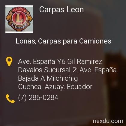 Carpas Leon