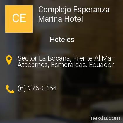 Complejo Esperanza Marina Hotel