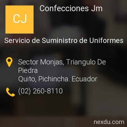 Confecciones Jm