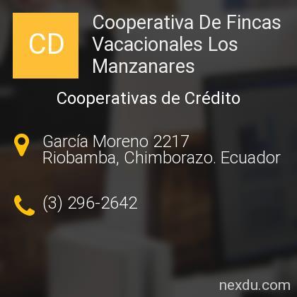 Cooperativa De Fincas Vacacionales Los Manzanares