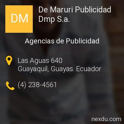De Maruri Publicidad Dmp S.a.