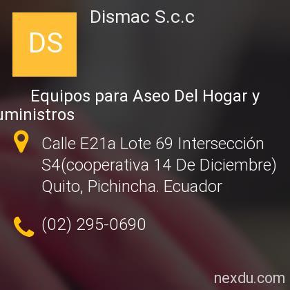 DISMAC S.C.C