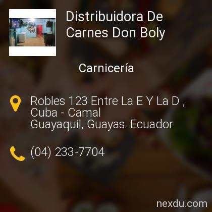 Distribuidora De Carnes Don Boly