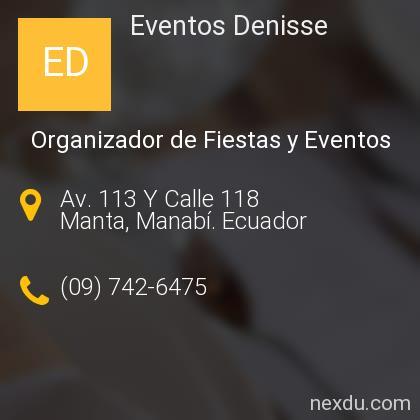 Eventos Denisse