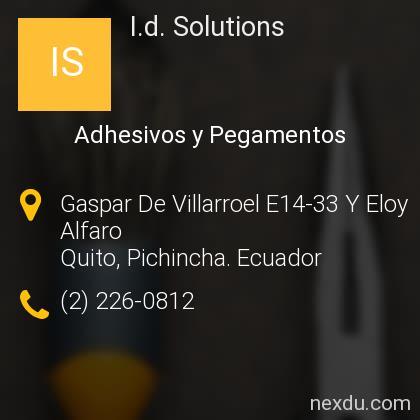 I.d. Solutions