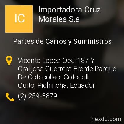 Importadora Cruz Morales S.a