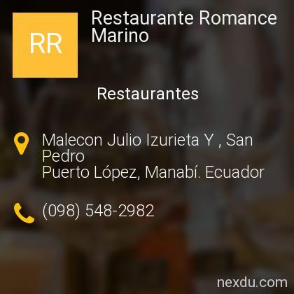 Restaurante Romance Marino