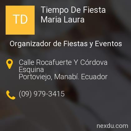 Tiempo De Fiesta Maria Laura