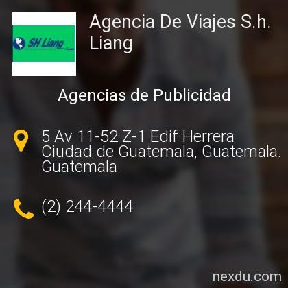 Agencia De Viajes S.h. Liang