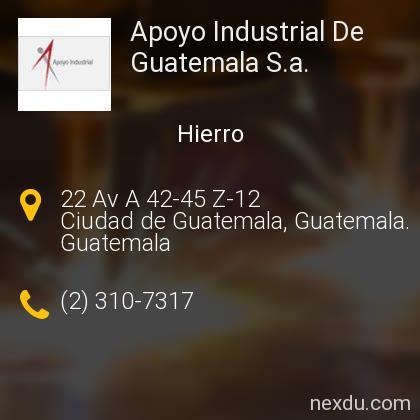 Apoyo Industrial De Guatemala S.a.