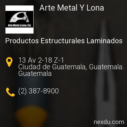 Arte Metal Y Lona