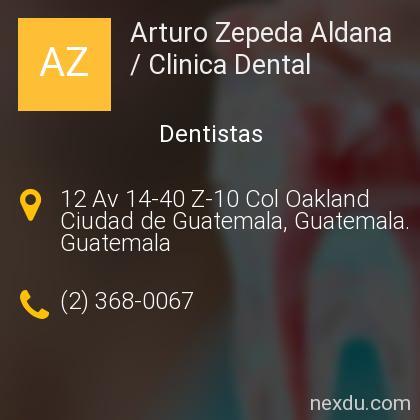 Arturo Zepeda Aldana / Clinica Dental