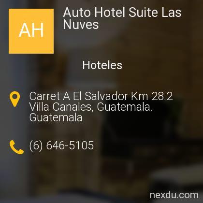 Auto Hotel Suite Las Nuves