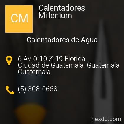 Calentadores Millenium