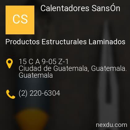 Calentadores SansÓn