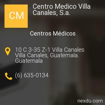 Centro Medico Villa Canales, S.a.