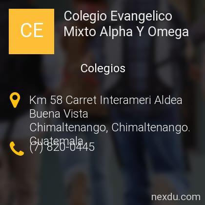Colegio Evangelico Mixto Alpha Y Omega