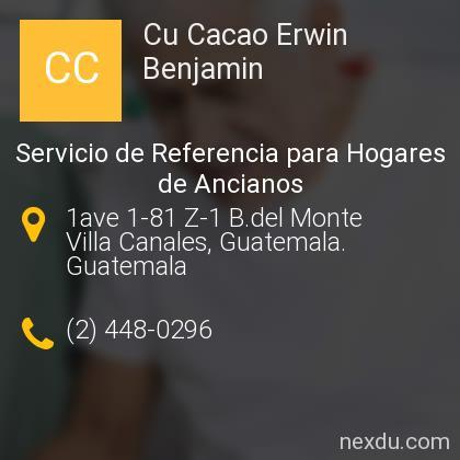 Cu Cacao Erwin Benjamin