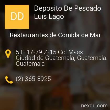 Deposito De Pescado Luis Lago