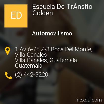 Escuela De TrÁnsito Golden