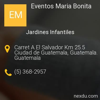 Eventos Maria Bonita