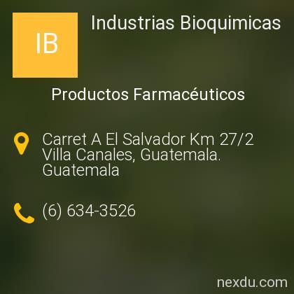 Industrias Bioquimicas