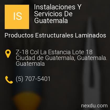 Instalaciones Y Servicios De Guatemala