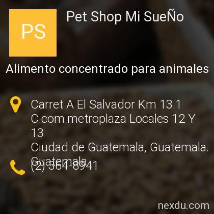 Pet Shop Mi SueÑo