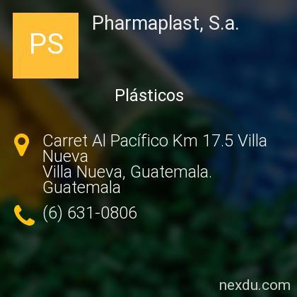 Pharmaplast, S.a.