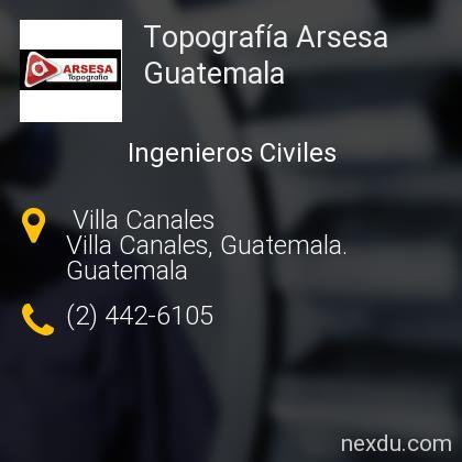 Topografía Arsesa Guatemala
