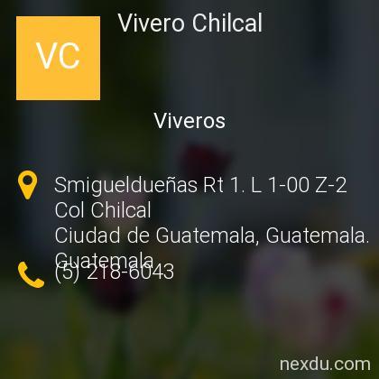 Vivero Chilcal