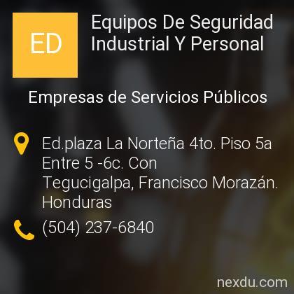 Equipos De Seguridad Industrial Y Personal