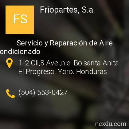 Friopartes, S.a.