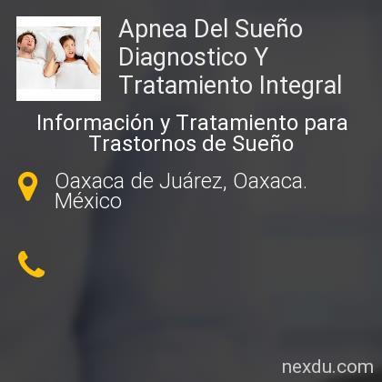 Apnea Del Sueño Diagnostico Y Tratamiento Integral